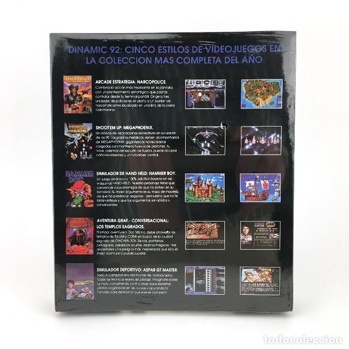 Videojuegos y Consolas: THE DINAMIC 92 Precintado LOS TEMPLOS SAGRADOS AD MEGAPHOENIX ASPAR NARCO POLICE HAMMER BOY ATARI ST - Foto 2 - 229779650