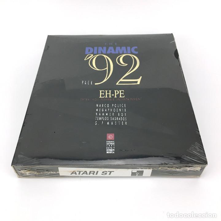 Videojuegos y Consolas: THE DINAMIC 92 Precintado LOS TEMPLOS SAGRADOS AD MEGAPHOENIX ASPAR NARCO POLICE HAMMER BOY ATARI ST - Foto 3 - 229779650