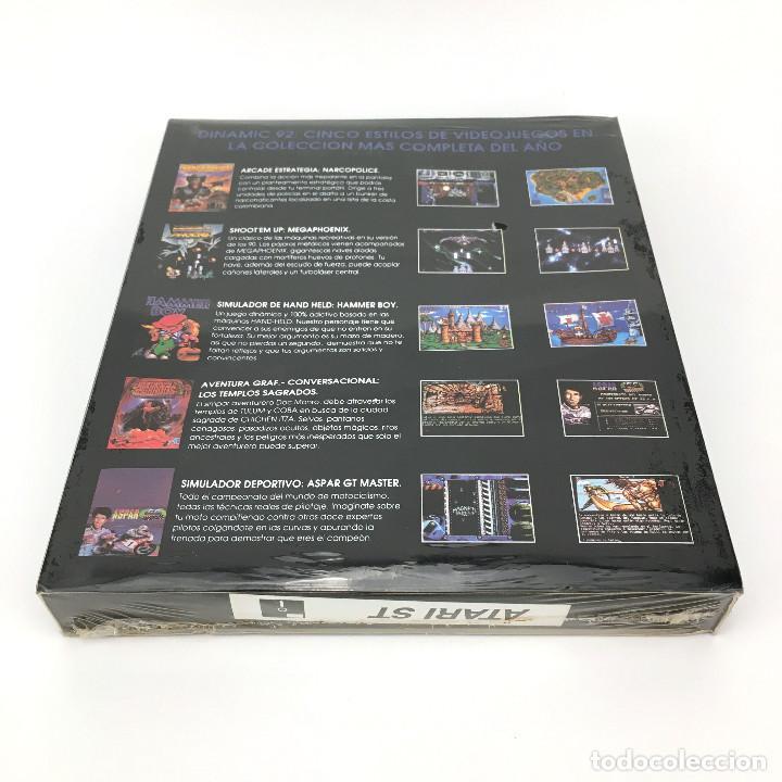 Videojuegos y Consolas: THE DINAMIC 92 Precintado LOS TEMPLOS SAGRADOS AD MEGAPHOENIX ASPAR NARCO POLICE HAMMER BOY ATARI ST - Foto 4 - 229779650