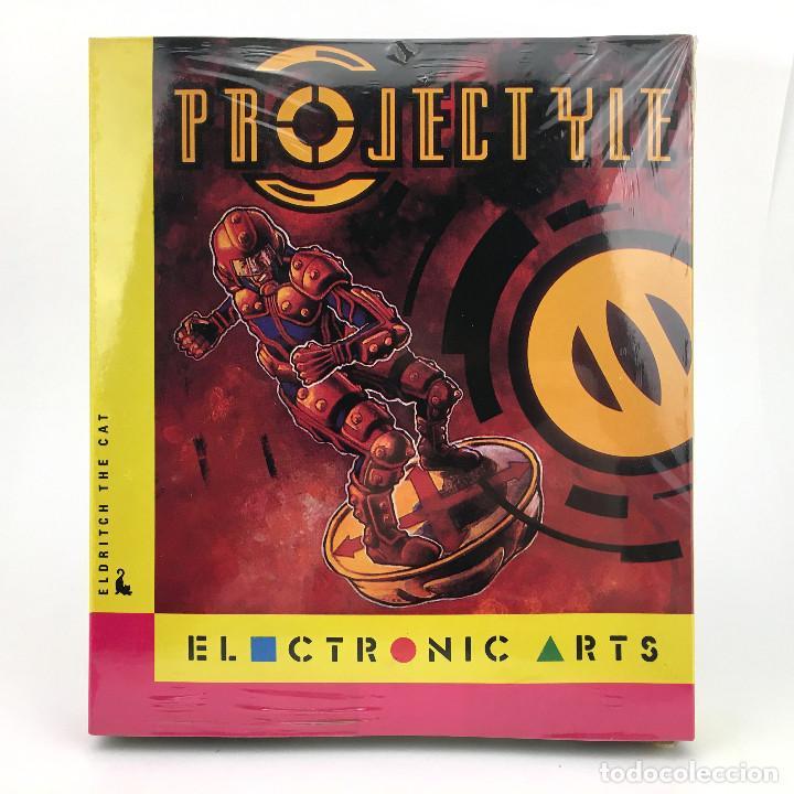 PROJECTYLE PRECINTADO DRO SOFT ESPAÑA CAJA GRANDE ELDRITCH THE CAT ELECTRONIC ARTS DISKETTE ATARI ST (Juguetes - Videojuegos y Consolas - Atari)