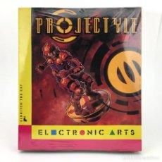 Videojuegos y Consolas: PROJECTYLE PRECINTADO DRO SOFT ESPAÑA CAJA GRANDE ELDRITCH THE CAT ELECTRONIC ARTS DISKETTE ATARI ST. Lote 229779915