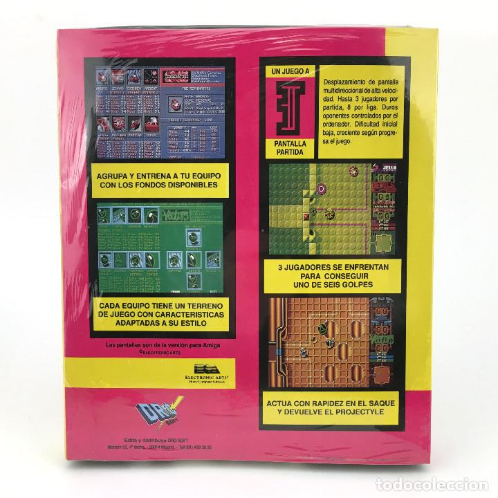Videojuegos y Consolas: PROJECTYLE Precintado DRO SOFT ESPAÑA CAJA GRANDE ELDRITCH THE CAT ELECTRONIC ARTS DISKETTE ATARI ST - Foto 2 - 229779915