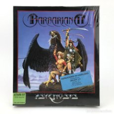 Videojuegos y Consolas: BARBARIAN 2 PRECINTADO * DRO SOFT ESPAÑA PSYGNOSIS 1991 CAJA GRANDE HEGOR CONAN DISKETTE 3½ ATARI ST. Lote 229780140