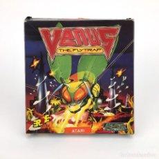 Videojuegos y Consolas: VENUS THE FLYTRAP / EL ATRAPAMOSCAS ERBE ESPAÑA GREMLIN 1990 JUEGO DISK VINTAGE DISKETTE 3½ ATARI ST. Lote 229916270