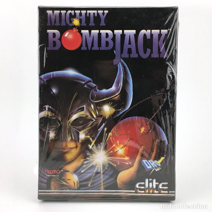 MIGHTY BOMBJACK - DRO SOFT ESPAÑA / ELITE / TECMO 1991 JUEGO CAJA GRANDE DISK DISKETTE 3½ ATARI ST + (Juguetes - Videojuegos y Consolas - Atari)
