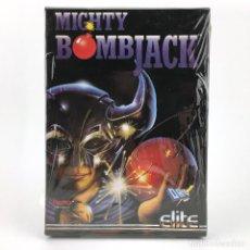 Videojuegos y Consolas: MIGHTY BOMBJACK - DRO SOFT ESPAÑA / ELITE / TECMO 1991 JUEGO CAJA GRANDE DISK DISKETTE 3½ ATARI ST +. Lote 229918135