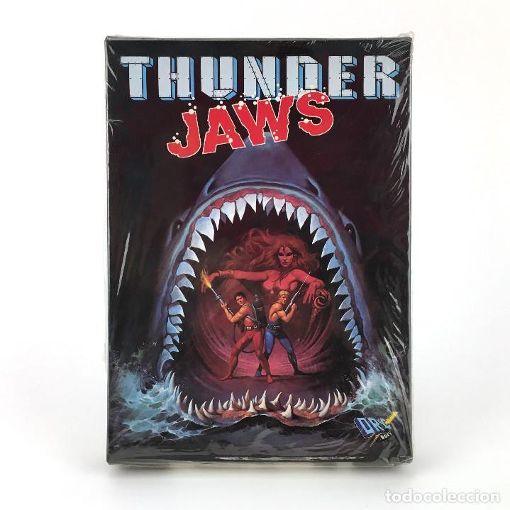 THUNDER JAWS - DRO SOFT ESPAÑA / DOMARK 1991 MUTANTS JUEGO CAJA GRANDE MBE DISK DISKETTE 3½ ATARI ST (Juguetes - Videojuegos y Consolas - Atari)