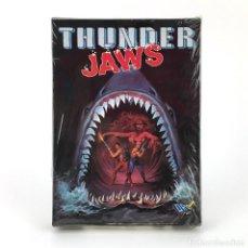 Videojogos e Consolas: THUNDER JAWS - DRO SOFT ESPAÑA / DOMARK 1991 MUTANTS JUEGO CAJA GRANDE MBE DISK DISKETTE 3½ ATARI ST. Lote 229918315