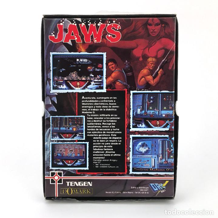Videojuegos y Consolas: THUNDER JAWS - DRO SOFT ESPAÑA / DOMARK 1991 MUTANTS JUEGO CAJA GRANDE MBE DISK DISKETTE 3½ ATARI ST - Foto 2 - 229918315