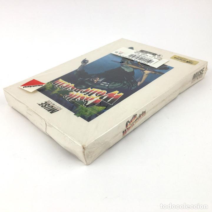 Videojuegos y Consolas: CASTLE WOLFENSTEIN Precintado DISK TPS WW2 JUEGO NUEVO CAJA GRANDE NOS ATARI 400 800 1200XL DISKETTE - Foto 3 - 231681555
