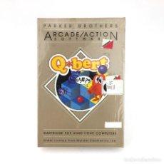 Videojuegos y Consolas: Q*BERT PRECINTADO. ATARI 400 800 1200XL CARTRIDGE RETRO PARKER BROTHERS MYLSTAR CARTUCHO NUEVO QBERT. Lote 232080715
