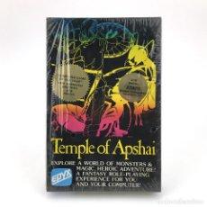 Videojuegos y Consolas: TEMPLE OF APSHAI PRECINTADO. 214D DISK ATARI HOME COMPUTER - EPYX - MAGIC DUNJONQUEST DISKETTE NUEVO. Lote 232080900