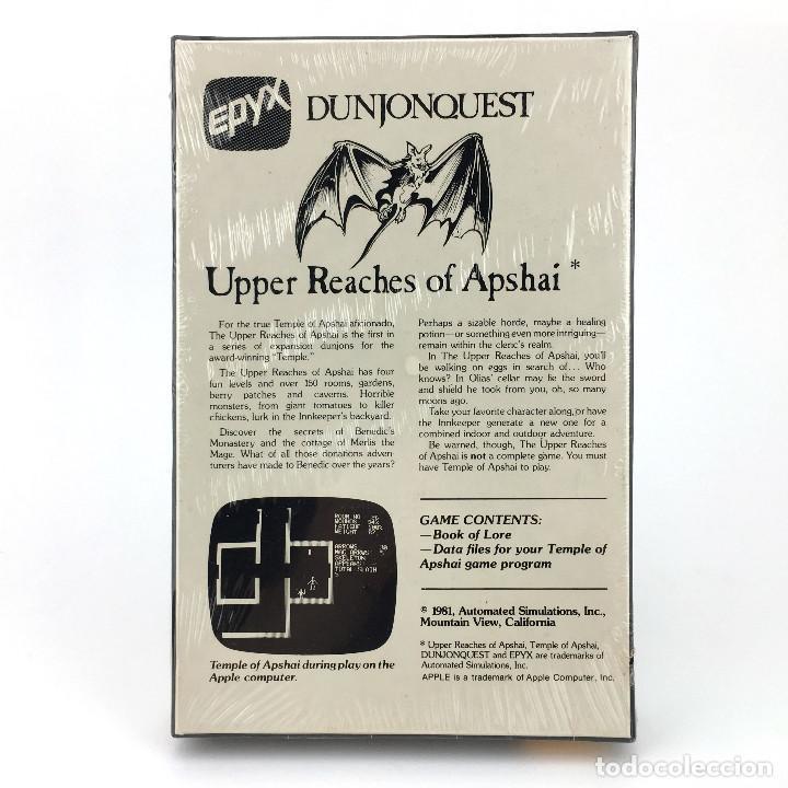 Videojuegos y Consolas: UPPER REACHES OF APSHAI * Precintado EXPANSION DUNJONQUEST TEMPLE JUEGO NUEVO CASSETTE ATARI 400 800 - Foto 2 - 232081400