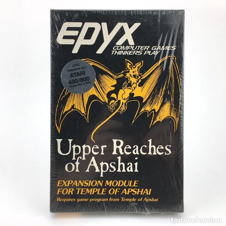 UPPER REACHES OF APSHAI * PRECINTADO EXPANSION DUNJONQUEST TEMPLE JUEGO NUEVO CASSETTE ATARI 400 800 (Juguetes - Videojuegos y Consolas - Atari)
