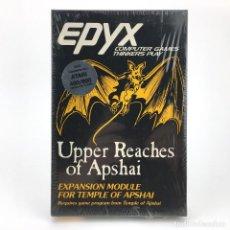 Videojuegos y Consolas: UPPER REACHES OF APSHAI * PRECINTADO EXPANSION DUNJONQUEST TEMPLE JUEGO NUEVO CASSETTE ATARI 400 800. Lote 232081400