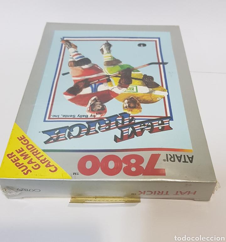 Videojuegos y Consolas: HAT TRICK - ATARI 7800 - NUEVO Y PRECINTADO - Foto 3 - 232534385