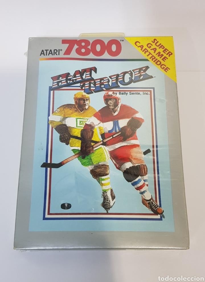 HAT TRICK - ATARI 7800 - NUEVO Y PRECINTADO (Juguetes - Videojuegos y Consolas - Atari)