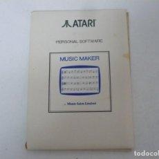 Videojuegos y Consolas: MUSIC MAKER / SOBRE CARTÓN / ATARI ST / STE / RETRO VINTAGE / DISCO - DISQUETE. Lote 233233840