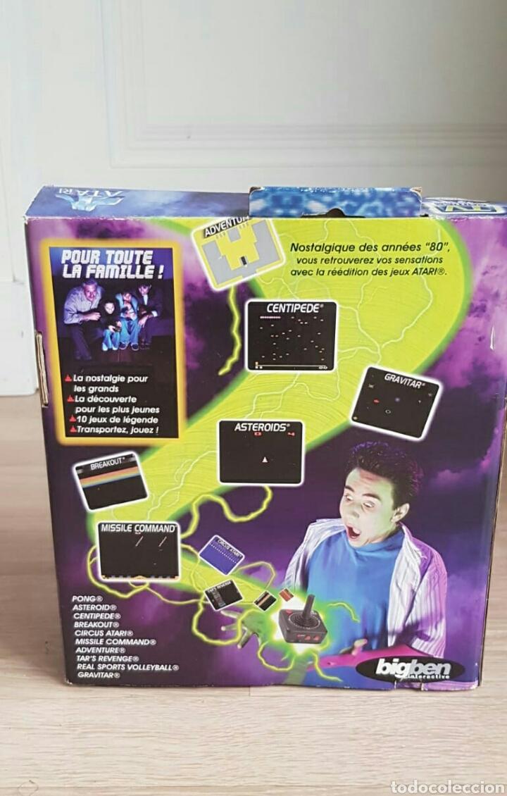 Videojuegos y Consolas: CONSOLA ATARI + 10 JUEGOS NUEVA - Foto 2 - 41376432