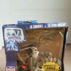 Videojuegos y Consolas: CONSOLA ATARI + 10 JUEGOS NUEVA. Lote 41376432