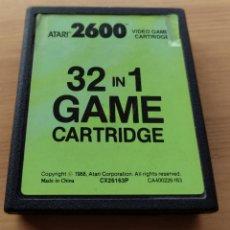 Jeux Vidéo et Consoles: JUEGO ATARI 2600 32 IN 1 GAME CARTRIDGE , FUNCIONANDO. Lote 238856735