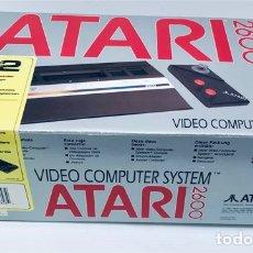 Videojogos e Consolas: [SOLO CAJA] ATARI 2600 JR. JUNIOR 1991 [ATARI CORPORATION SUNNYVALE CA] VCS, BONNIE [CAJA ORIGINAL1]. Lote 239848540