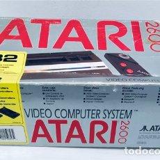 Videojuegos y Consolas: [SOLO CAJA] ATARI 2600 JR. JUNIOR 1991 [ATARI CORPORATION SUNNYVALE CA] VCS, BONNIE [CAJA ORIGINAL2]. Lote 241201825