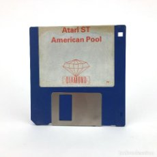 Videojuegos y Consolas: AMERICAN POOL DIAMOND GAMES 1988 JUEGO RETRO BILLAR SNOOKER BILLIARD SKILL DISK ATARI ST DISKETTE 3½. Lote 243207065