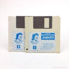 Videojuegos y Consolas: JABATO. AVENTURAS AD / DINAMIC SOFTWARE 1989 CONVERSACIONAL VINTAGE JUEGO RETRO ATARI ST DISKETTE 3½. Lote 243299435