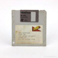 Jeux Vidéo et Consoles: THE SIMPSONS / BART VS SPACE MUTANTS. ERBE ESPAÑA 1991 VINTAGE DISK JUEGO RETRO ATARI ST DISKETTE 3½. Lote 243299585