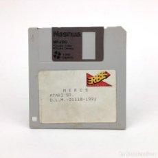 Jeux Vidéo et Consoles: MERCS. ERBE ESPAÑA 1991 CAPCOM U.S GOLD 1991 SENJŌ NO ŌKAMI 2 VIDEO JUEGO RETRO ATARI ST DISKETTE 3½. Lote 243299690