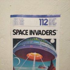 Videojuegos y Consolas: MANUAL INSTRUCCIONES SPACE INVADERS - ATARI - AÑO 1980 + FOLLETO JUEGOS ATARI 2600. Lote 243342645