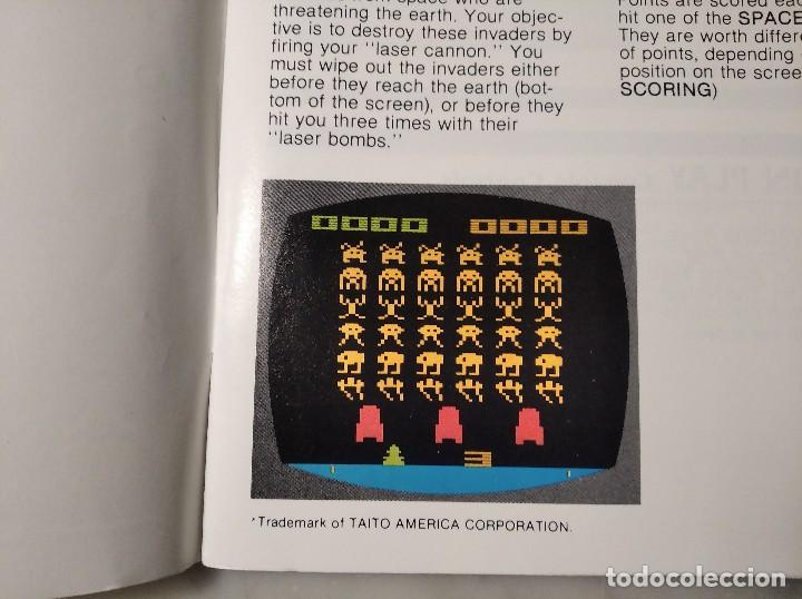 Videojuegos y Consolas: MANUAL INSTRUCCIONES SPACE INVADERS - ATARI - AÑO 1980 + FOLLETO JUEGOS ATARI 2600 - Foto 5 - 243342645