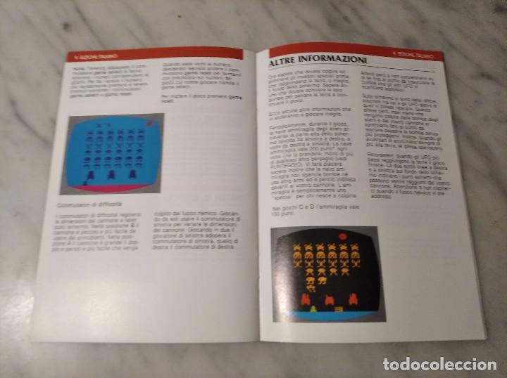 Videojuegos y Consolas: MANUAL INSTRUCCIONES SPACE INVADERS - ATARI - AÑO 1980 + FOLLETO JUEGOS ATARI 2600 - Foto 6 - 243342645