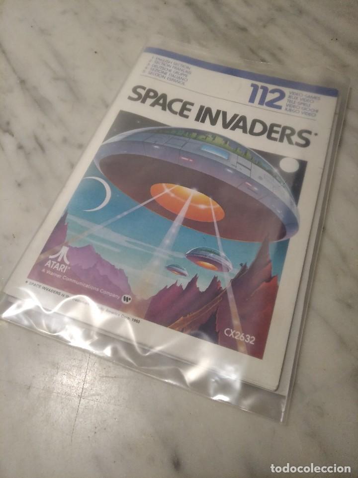 Videojuegos y Consolas: MANUAL INSTRUCCIONES SPACE INVADERS - ATARI - AÑO 1980 + FOLLETO JUEGOS ATARI 2600 - Foto 11 - 243342645