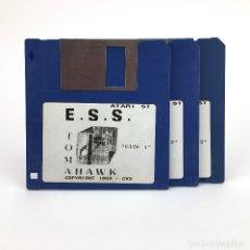 Videojuegos y Consolas: E.S.S. TOMAHAWK COKTEL VISION 1989 EUROPEAN SPACE SIMULATOR VINTAGE JUEGO RETRO ATARI ST DISKETTE 3½. Lote 243444515