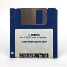 Videojuegos y Consolas: ELIMINATOR - HEWSON CONSULTANTS 1988 RETRO GAMING RARE DISK VINTAGE JUEGO RETRO ATARI ST DISKETTE 3½. Lote 243444775