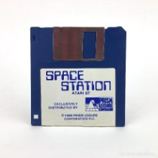Videojuegos y Consolas: SPACE STATION - PRISM LEISURE CORPORATION 1988 RAREZA VINTAGE GAME JUEGO RETRO ATARI ST DISKETTE 3½. Lote 243445395