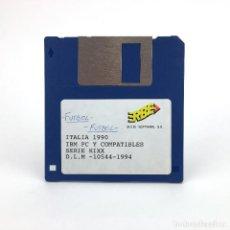 Videojuegos y Consolas: ITALIA 1990 ERBE ESPAÑA KIXX 1994 SOCCER FUTBOL CALCIO VINTAGE GAME JUEGO RETRO ATARI ST DISKETTE 3½. Lote 243447520