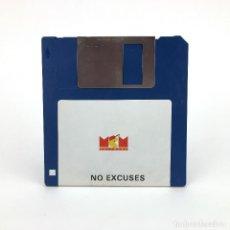 Videojuegos y Consolas: NO EXCUSES - MCM ARCANA 1989 JOHN GIRVIN PUZZLE VINTAGE JUEGO RETRO INFORMATICA ATARI ST DISKETTE 3½. Lote 243448235