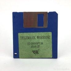 Videojuegos y Consolas: TELEMARK WARRIOR - DRO SOFT - ESPAÑA 1989. RAREZA VIDEO JUEGO RETRO INFORMATICA ATARI ST DISKETTE 3½. Lote 243449845