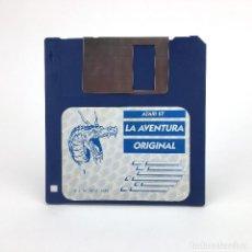 Videojuegos y Consolas: LA AVENTURA ORIGINAL DISCO 1 AVENTURAS AD DINAMIC SOFTWARE CONVERSACIONAL JUEGO ATARI ST DISKETTE 3½. Lote 243450115