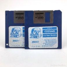 Videojuegos y Consolas: COZUMEL. AVENTURAS AD DINAMIC SOFTWARE CI-U-THAN TRILOGY I CONVERSACIONAL JUEGO ATARI ST DISKETTE 3½. Lote 243450430