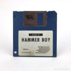 Videojuegos y Consolas: HAMMER BOY * DISCO 1. DINAMIC SOFTWARE ESPAÑA 1991 ADDICTIVE ARCADE JUEGO RETRO ATARI ST DISKETTE 3½. Lote 243451255