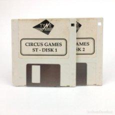 Videojuegos y Consolas: CIRCUS GAMES - TYNE SOFT 1988 SPORTS SIMULADOR DEPORTE VINTAGE DISK JUEGO RETRO ATARI ST DISKETTE 3½. Lote 243454980