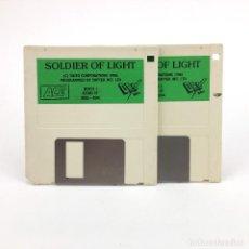 Videojuegos y Consolas: SOLDIER OF LIGHT DRO SOFT ESPAÑA ACE TAITO SOFTEK 1986 VINTAGE DISK JUEGO RETRO ATARI ST DISKETTE 3½. Lote 243455280