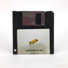 Videojuegos y Consolas: CHICAGO´S 30 / TOPO SOFT ESPAÑA ERBE 1989 RARA EDICION VINTAGE DISK JUEGO RETRO ATARI ST DISKETTE 3½. Lote 243455945