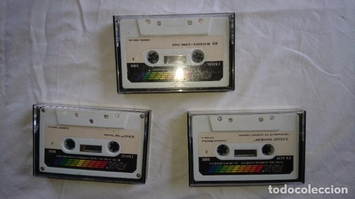3 JUEGOS CASSETTE ATARI (Juguetes - Videojuegos y Consolas - Atari)