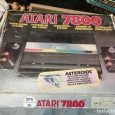 Videojuegos y Consolas: CONSOLA ATARI 7800 COMPLETA CON CAJA Y JUEGOS. Lote 244542195