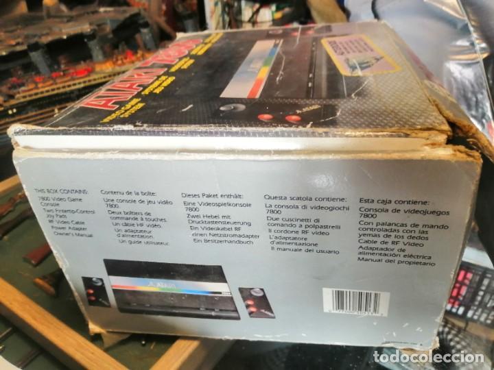 Videojuegos y Consolas: CONSOLA ATARI 7800 COMPLETA CON CAJA Y JUEGOS - Foto 6 - 244542195